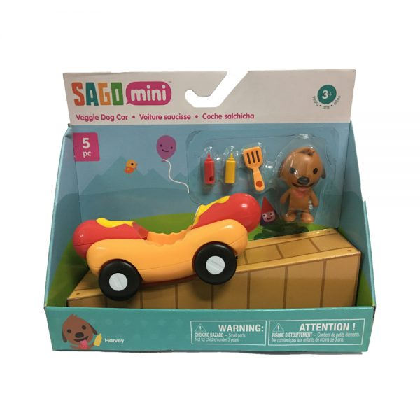 ของเล่น Sago Mini Veggie Dog Car @kiddopacific